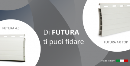 Futura 4.0: l'avvolgibile in PVC che non deforma
